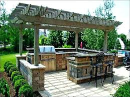 outdoor kitchen gazebo plans with fireplace free simple outside outdoor kitchen gazebo