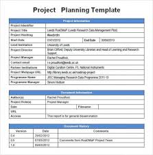 It Project Plan Template Inspiration Project Plan Sample Magnificent Risk Mitigation Plan Template