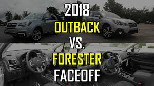 2018 subaru forester limited. unique 2018 2018 subaru outback vs forester faceoff comparison in subaru forester limited