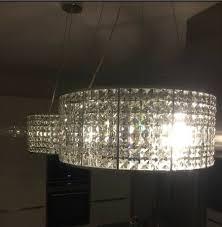 Design Kronleuchter Kristall Hängelampe