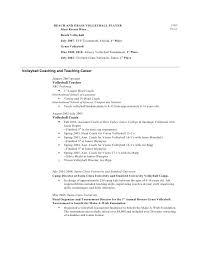 Cv Template Stanford Example Good Resume Template
