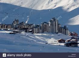 Skigebiet Tignes Val Claret, Frankreich Stockfotografie - Alamy