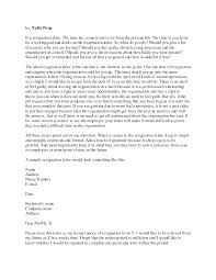 how to start a letter of resignation resume layout  format