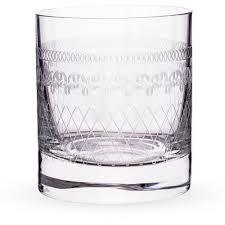 Urban Bar Etched Crystal 1910 Retro Old Fashioned Glasses ...