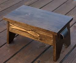 DIY Wooden Footstool - Get the plans to make your own. virginiasweetpea.com