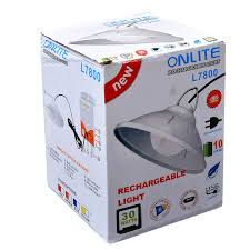 Onlite Rechargeable Light Onlite L7800 30watts Mini Inverter Power Bank Rechargeable