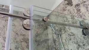 Shower Door kohler levity shower door installation photos : shower door installation - YouTube