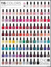 Essie Color Chart Cnd Shellac Nail Polish Color Chart Tepaksirehblog Com