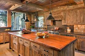 cottage kitchen with exposed beams beams lighting