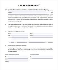free lease agreement forms to print sample vehicle lease agreement