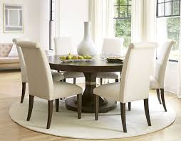 Beautiful Small White Round Dining Table
