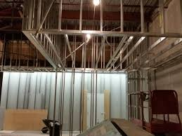 Interior metal framing Metal Wall Metal Stud Framing Brooklyn Bronx Nyc Sga Speir Building Addition Commercial Drywall And Metal Framing Contractors Serving Ct And Ny