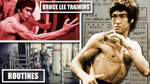 bruce lee s routines what we know of the actual programs he used
