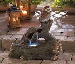 outdoor decor water fountains
