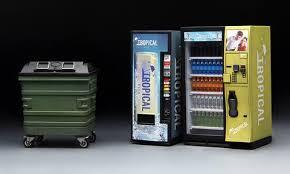 Office Supplies Vending Machine Best Meng 4848 Supplies Series Vending Machine Dumpster Set Plastic