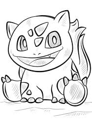 Small Picture Bulbasaur Pokemon coloring page Free Printable Coloring Pages