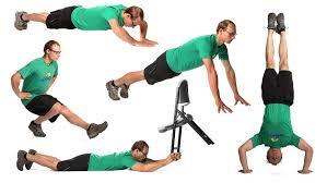 gym free climbing exercises