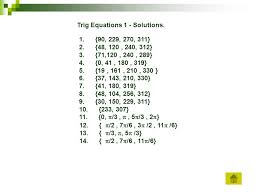 4 trig equations 1