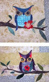 Quilt Inspiration: Free Pattern Day: Owls ! & Thirteen Owls quilt, 49 x 49