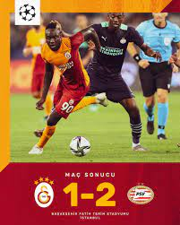 """Galatasaray SK on Twitter: """"Maç sonucu: Galatasaray 1-2 PSV Eindhoven  #GSvPSV #UCL… """""""