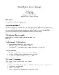 Newly Graduate Resume Sample Resume Nursing Student Resume Sample
