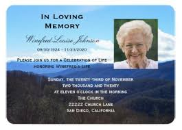 memorial service invitation 28 funeral invitation templates free sample example format