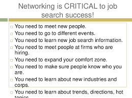 networking for a job hub based networking in a job search by greg david of gregory laka an
