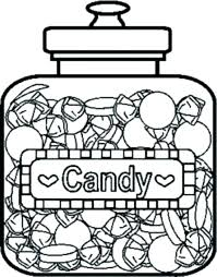 candy coloring page. Contemporary Page Coloring Pictures Of Candy Pages To Print Page  Free For  Cotton  Intended Candy Coloring Page