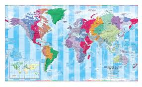 Worl Time Zones Time Zones On Map Gmt On World Map Time Zone