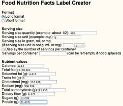 food label creator us nutrition facts label food labeling software esha research printable