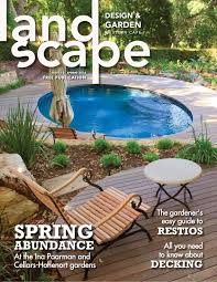 garden design magazine. Landscape Design And Garden - Spring 2013 By Magazine Issuu A