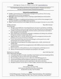 Beverage Merchandiser Sample Resume Unique Visual Merchandiser Resume Best Of Sample Resume For Retail