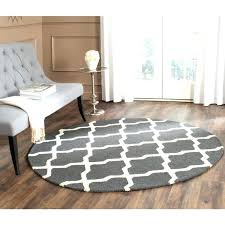 4 foot round rugs designs