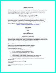Finished Resume Cv For Carpenter Construction Worker Image