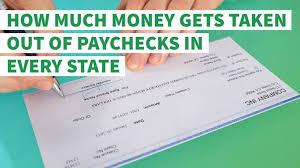 wisconsin paycheck calculator how much money gets taken out of paychecks in every state