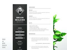 Resume Template Word Free Interesting Styles One Page Resume Template Word Free Download Templates Civil