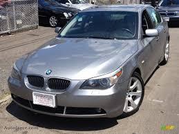 BMW 5 Series 2005 bmw 5 series 545i : 2005 BMW 5 Series 545i Sedan in Silver Grey Metallic - N64258 ...
