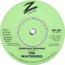 45cat - The Waitresses - Christmas Wrapping / Hangover 1/1/83 - Ze ...