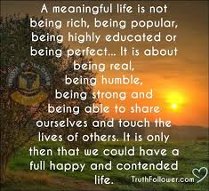 Quotes About Meaningful Life Mesmerizing What Is The Meaning Of Life Quotes