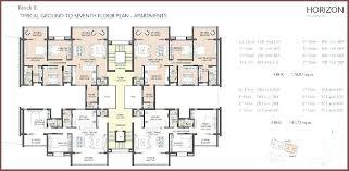 apartment building plans design pdf