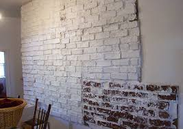 diy brick wallpaper