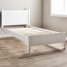 Shop Taylor & Olive Catalina White Twin Bed - Free Shipping Today ...