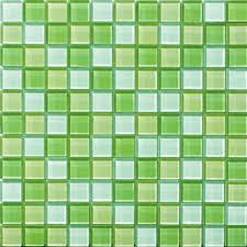 glossyapple green blend glass mosaic tile mesh backed sheet glass mosaic tile sheets uk