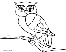 owl coloring pictures. Perfect Coloring Owl Coloring Page Throughout Pictures