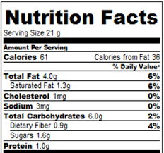 chocolate brownie cookies calories and nutrition facts