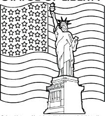 American Flag Coloring Page Us Pages For First Grade Coloring