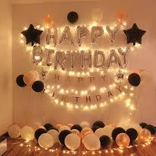 birthday room decoration for boyfriend