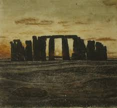 sandpainting dawn at stonehenge jpg