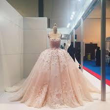 716 best wedding images on pinterest wedding dressses, marriage Wedding Dress Shops Uae blush florals and butterfly detailing on this pretty pleated bouffant wedding dress wedding dress shops eau claire wi