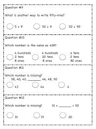 Stunning Math Test 2nd Grade Printable Photos - Printable Math ...